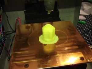 Solidoodle V2 first successful print